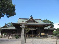 海から少し離れて向かったのがこちらの若松恵比須神社