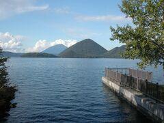 洞爺湖   内浦湾(噴火湾)沿いから洞爺湖に抜けました。  壮瞥公園で一休み。