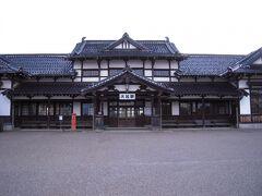 翌朝、早起きをして旧大社駅を訪れました。