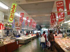 前回同様、境港おさかなセンターで美味しい肴をGETします。
