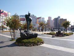 予定より少し遅れて松本駅に到着。