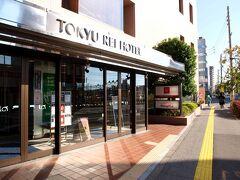 松本駅前の「松本東急REIホテル」( http://www.tokyuhotels.co.jp/ja/hotel/TR/TR_MATUM/ )駐車場に停め休息。
