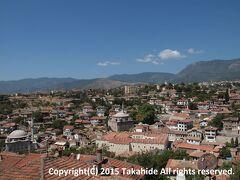 フドゥルルックの丘(Hıdırlık Seyir Tepesi)  東の丘からの眺望です。   フドゥルルックの丘:http://safranboluturizm.gov.tr/page.asp?ctg=2&id=40