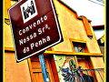 【Convento Nossa Srs da Penha セニョラ・ペ—ニャ修道院】  修道士ペドロ・パラシオスという方により、約457年前の1558年に建てられたものなんだそうです。