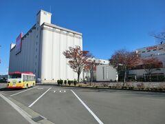 9:50 キリンビール仙台工場に着きました。  私は中野栄駅から歩いてきましたが、JR仙石線の多賀城駅から無料の送迎バスがあります。