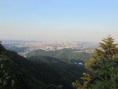 高尾山ビアマウントからの景色