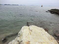 羽豆岬に行ってみましょう。 ここが、知多半島先端部です。