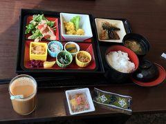 朝食は和食をチョイス♪