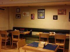 ホテル併設のAmici Cafe このホテルは日本人からのレビューも良く、清潔で快適ですが カフェも良かったです。