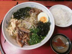元祖! 鶏麺 750円  主人はお薦めの里の曙という焼酎を飲んで美味しいと言っていました。 291円