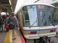 9:03 JR奈良線で宇治へ。 途中の東福寺駅は大変な混雑でした。