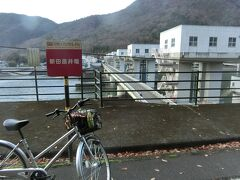 吉井川の新田原井堰。