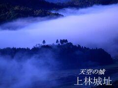 君尾山登山道中腹から  ※小さな上林城(生貫山城)の城主上林氏こそ宇治に茶園を経営し 、豊臣秀吉からは宇治茶頭取として宇治茶の総支配を命じられ、徳川家光の代には宇治茶師を務めた一族の城です。   Kyoto Tamba Kogen Quasi-National Park