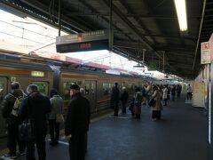 旅のスタートは新秋津駅 08:51府中本町行で西国分寺まで