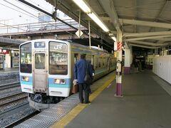 11:40甲府駅到着。  早朝に家を出たわけではないので、甲府到着はお昼になりました。
