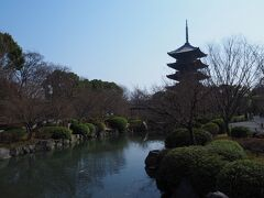 さて、東福寺の次は、昨日に引き続き東寺へやってきました。