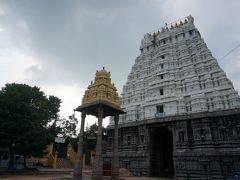 寺2個目【ワラダラージャ寺院】  16世紀のヴィジャヤナガル朝時代に建てられたもの。 敷地の中央にある96本の石柱を持つ巨大なホールが美しい。
