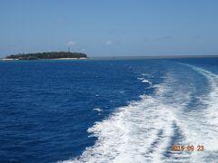 グリーン島を11:20出発し、グレートバリアリーフ(ノーマンリーフ)に向かいます。