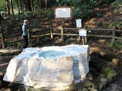 """""""吐玉泉""""という、水がコンコンと湧き出ている泉がありました。"""