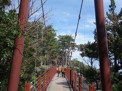 記憶では,もうすこし大きかったように思うのですが。。。きれいな橋です。架け替えたようです。
