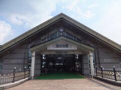 一駅。あっという間に軽井沢です。さすがに新幹線は速いですね。