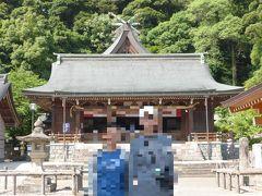 埋没林公園に向かう途中、ガイドツアーの解説にもでてきた物部神社に立ち寄り、参拝。