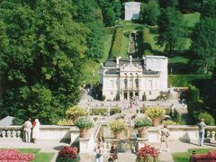 *こちらもルートヴィッヒ2世のお城リンダーホーフ  辺鄙な場所につくるのが凄い!