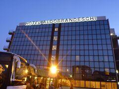 ローマのホテル「ホテル アルドブランデスキ」には21時に到着しました。