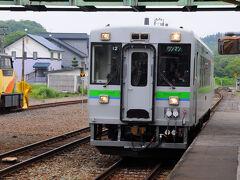 最終日、起きて外を見ると、今にも雨が降りそうな空模様。 予報も天気は下り坂。 悩んだ挙句、アンヌプリ登山は次回に延期して、潔く撤退することにした。 宿の車でニセコ駅まで送ってもらい、4時間早い9:45発の列車でニセコを離れた。 ちなみに、この4時間の間に列車は1本も無い。。。