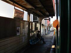 北天下茶屋駅 この付近はゴチャゴチャして一番好き