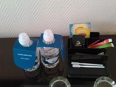 今夜から2泊するのはホテル ウサ プレジデント パーク。  水が2本と無料の紅茶類
