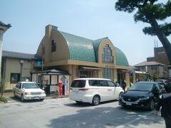 一畑電車 出雲大社前駅。 15年前に来た時にお世話になった駅です。