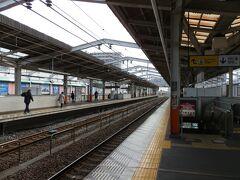 東武スカイツリーライン「草加駅」のホームです。
