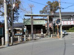 旧日光街道沿いにある「神明宮(しんめいぐう)」です。