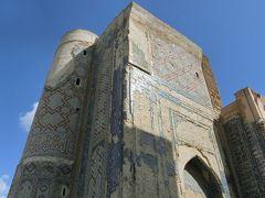 アク サライ宮殿跡 Oq Saroy Majimuasi です。 ティムールがティムール帝国を樹立した後に 築いた大きな宮殿だそうですが、殆ど残っていませんでした。