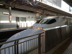 今回は新幹線とレンタカー。まずは名古屋まで。