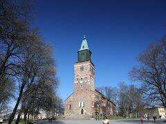 トゥルク大聖堂も石造り