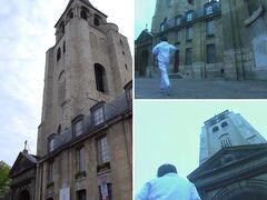 モンマルトルの丘からワープして(笑)サン・ジェルマン・デ・プレ教会の前をランニングする千秋。