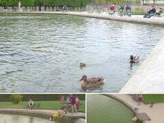 映画『最終楽章 前編』でのだめが落ちた池はチュイルリー公園の池。