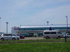 国道273号線から道々713号線を経由して紋別市街へ。 紋別から国道238号線を進み、オホーツク紋別空港に到着。 (10:12)(295㎞)