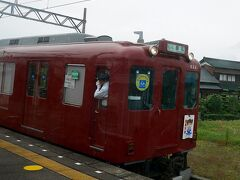 下深谷 1106大垣発1150列車と交換