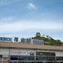 出発地点の尾道駅。 東京は朝土砂降りだったのですが、尾道に着いたらこの青空。