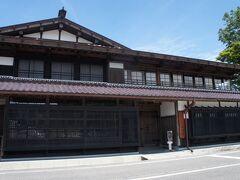 渡邊邸、米沢街道における豪商のお屋敷  .  .  .  .  .