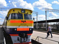 今回は鉄道には乗らないけれど、こちらはリガ中央駅。  と、ここまでは、 到着したその日から3日目までの旅行記です。