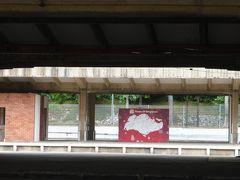 ケッペルロードKeppelRdからホームを写す。 シンガポールの地図があった。