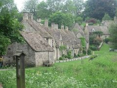 ここからが、バイブリーの見どころ「アーリントン・ロウ」と呼ばれる家並みです。