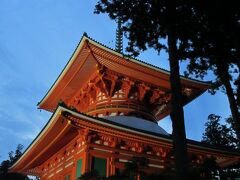 金剛峯寺は夜は入れませんが、このライトアップされている壇上伽藍や金堂の辺りは自由に散策できるようです。