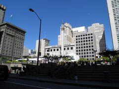 サンフランシスコの中心地的存在のユニオン・スクエア。