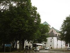 やっとトゥルク城が見えてきました。