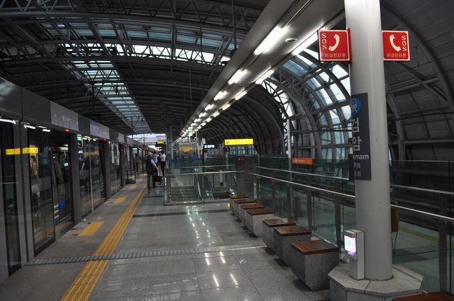 2016年8月韓国鉄道旅行8(仁川地...